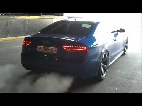 Audi RS5 4.2 V8 Dream car with incredible exhaust sound ! HD