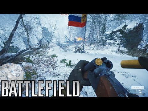 The Gulag Maker - Russian Double Barreled Shotgun! (Battlefield 1 In The Name of The Tsar DLC)