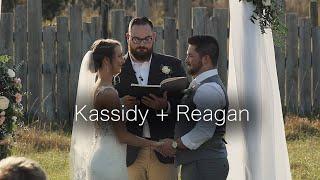 Kassidy + Reagan Wedding Video   The Barn on Heartland Farm   Polk City, Florida