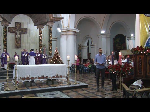 SANTA EUCARISTÍA NOVENA DE NAVIDAD 2019 DÍA 7 Catedral de la Sagrada Familia