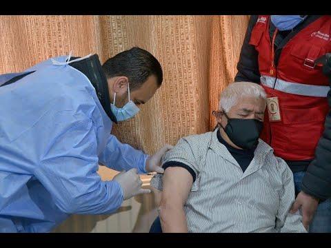 لاجئون سوريون في الأردن يتلقون لقاحات الوقاية من كوفيد-19  - 20:00-2021 / 1 / 19