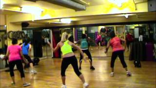 DANCEHALL AEROBICS WORKOUT SESSION - (BUSY SIGNAL STEP OUT)