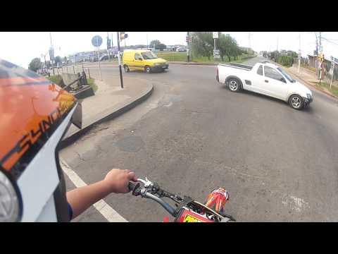 motard maldonado uruguay xz250r gopro
