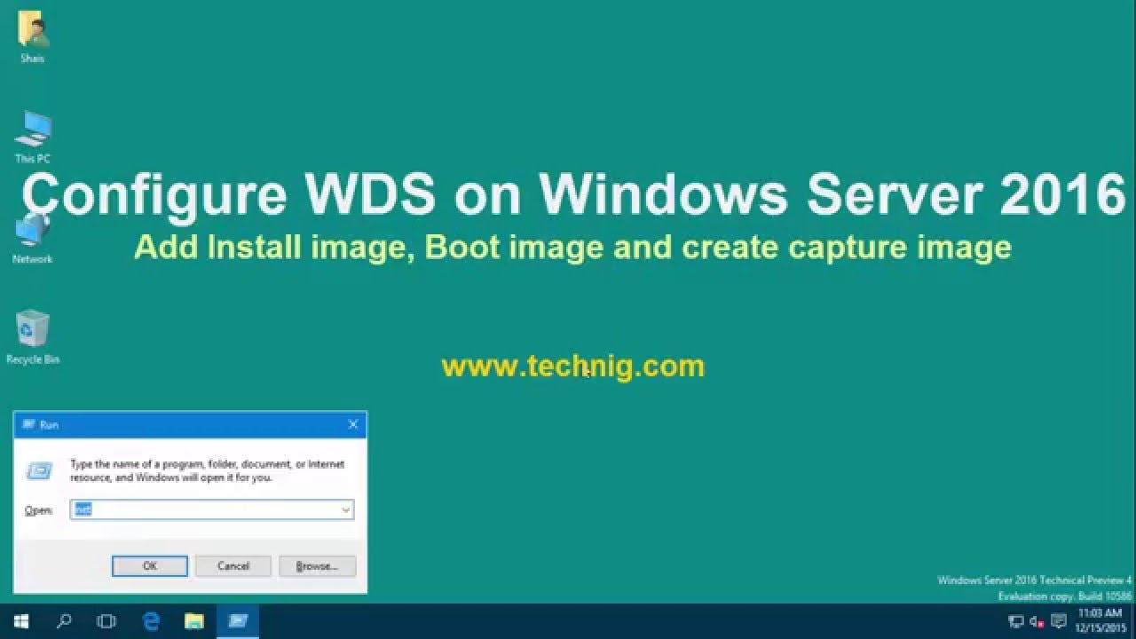Configure WDS on Windows Server 2016