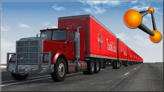 BeamNG Drive Insane Trucking Crashes #4