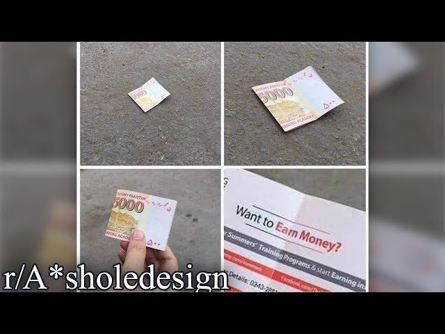 r/A*sholedesign | FREE MONEY!! (except no)