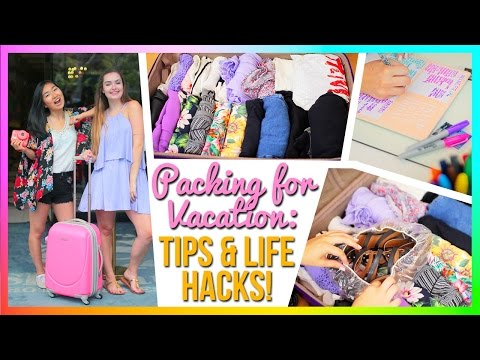 Packing for Summer Vacation! Tips & Life Hacks!