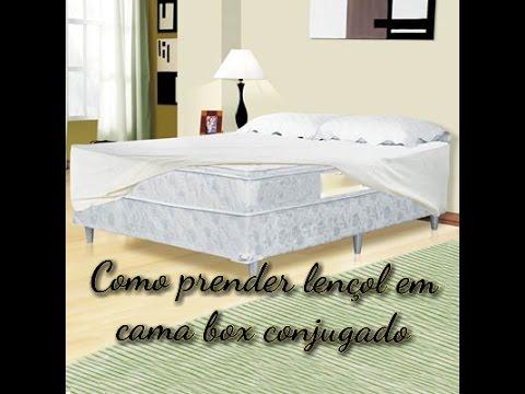 27fd717384 Como prender lençol em cama box conjugado!! - YouTube