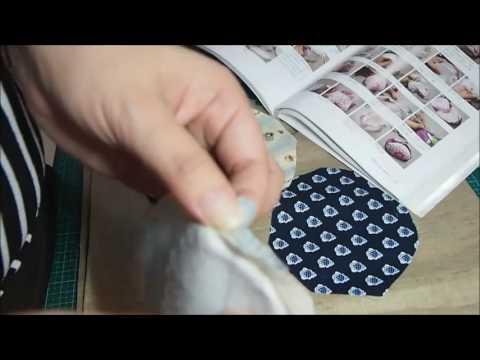 DIY Handcraft ~ 8.5cm 可爱口金包 Metal frame Coin Purse: Part 2