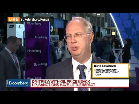 Russian Direct Investment Fund CEO on Economy, Sanctions, Oil