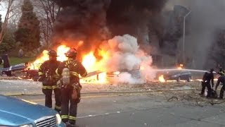 NTSB Investigates TV Helicopter Crash in Seattle