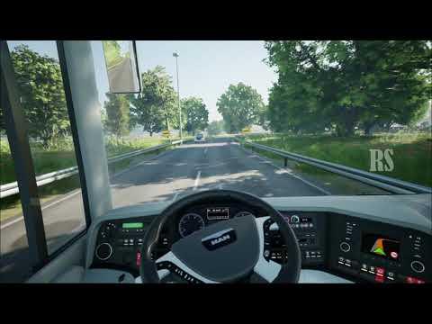 Fernbus Simulator | MAN Lion's coach 2nd Gen | Wolfsburg-Braunschweig | PC Gameplay 1080P 60FPS |