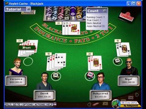 Hoyle Casino 5 (2000) - Blackjack 01[720p]