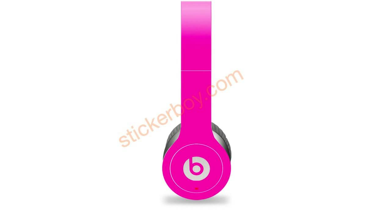 Beats by Dre Wireless Skins by Stickerboy - Neon Series