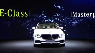 فيديو| مرسيدس تكشف رسمياً عن E-Class 2017 كلياً