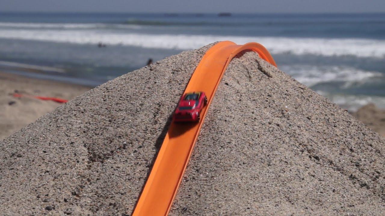 Hot Wheels Beach Track YouTube - Big al's toy box car show 2018