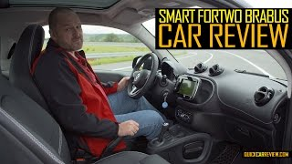 CAR REVIEW: 2016 Smart Fortwo Brabus Test Drive
