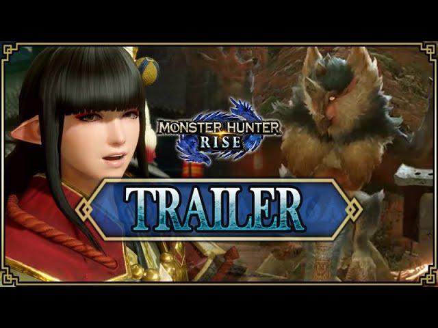 Monster Hunter Rise - Trailer #2 [Video Games Award]