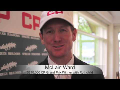 One on One With: McLain Ward, winner $210,000 CP Grand Prix at 2014 Spruce Meadows