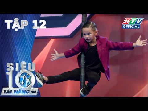 SIÊU TÀI NĂNG NHÍ | Lộ diện top 10, Ali - Xìn - Ri phấn khích trước rapper Tiến Nhỏ | TẬP 12 #STNN
