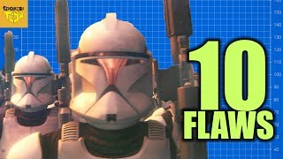 10 Flaws with the Republic CLONE WARS STRATEGY