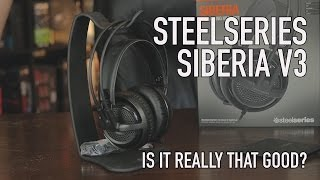 SteelSeries Siberia V3 Headset - Is It Really That Good?
