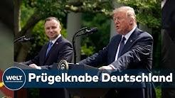 AB NACH POLEN: Trump treibt US-Truppenabzug aus Deutschland voran