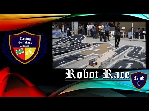 Robo race competition at St. John college of engineering | megalio college event