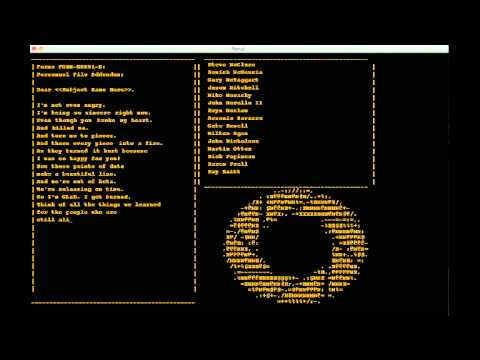 Portal 1 - Ending Song - Still Alive