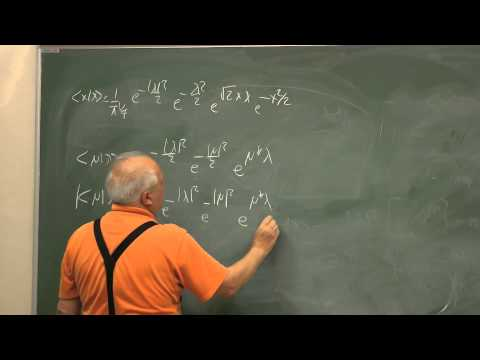 1D-HO: (4A) Properties of Coherent States