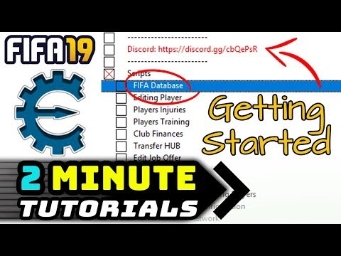 GETTING STARTED  - FIFA  CHEAT TABLE -  MIN TUTORIAL