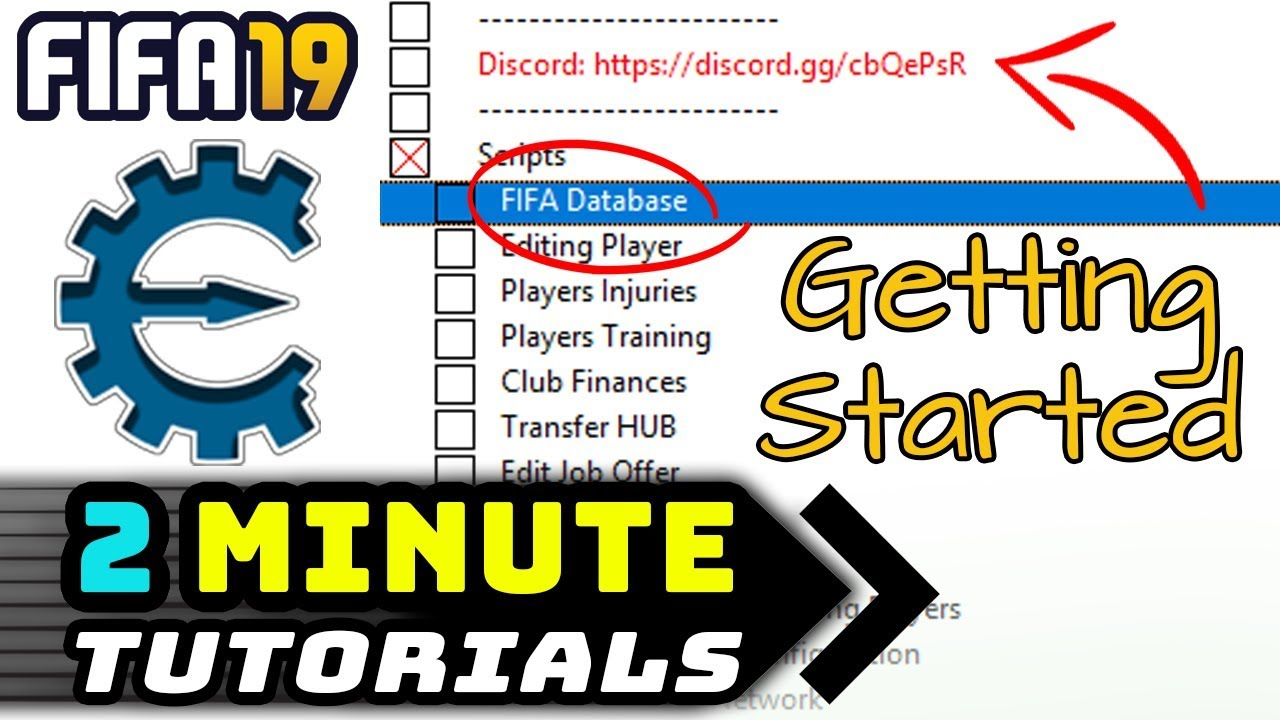 GETTING STARTED - FIFA 19 CHEAT TABLE - 2 MIN TUTORIAL