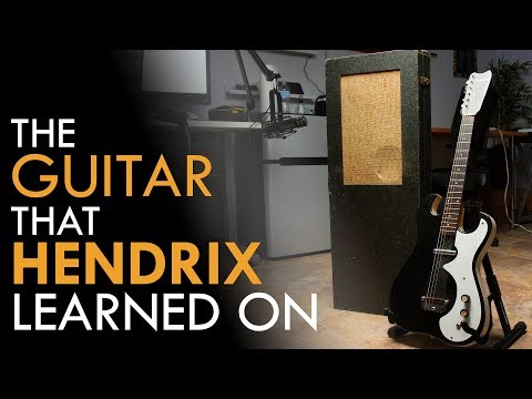 THIS Is The Guitar That JIMI HENDRIX Learned On! (Silvertone 1448 Review)