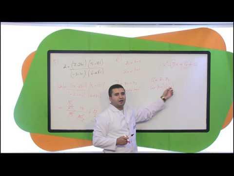 11. Sınıf Matematik Görüntülü Eğitim Seti (Matematik Soru Çözümleri)