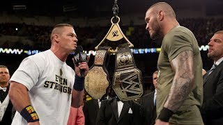 Championship Ascension Ceremony: Raw, Dec. 9, 2013