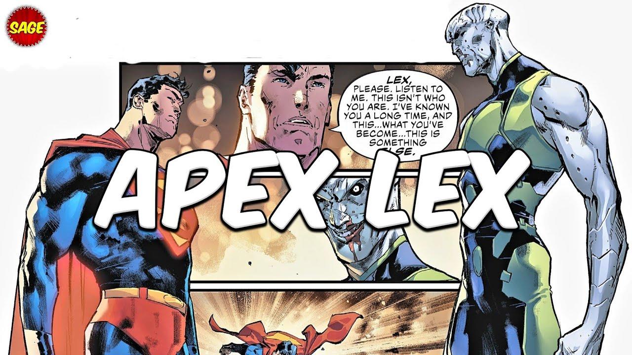 "Who is DC Comics' Apex Lex? Luthor's Epic ""Final Form"""