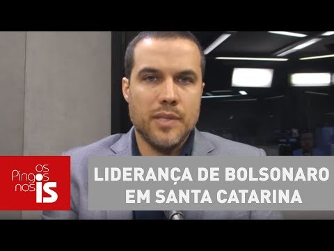 Felipe Moura Brasil Comenta Liderança De Bolsonaro Em Santa Catarina