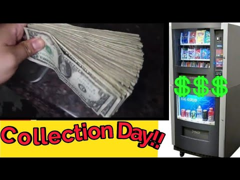 Combo Vending Machine 1 Week Collection! (Vending Business 2019)