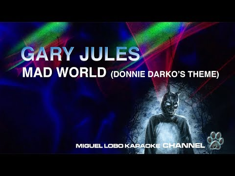 [Karaoke] GARY JULES - MAD WORLD (Donnie Darko's Theme) Miguel Lobo
