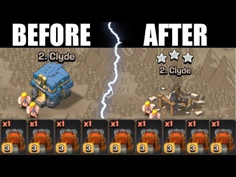 Siege Machines In TH12 War 3 Star Attacks Clash of Clans