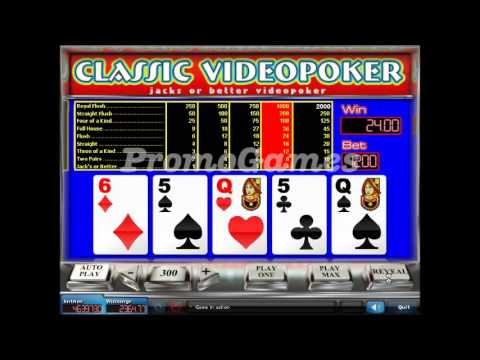 PromoGames Presents: Sweepstakes Classic Videopoker