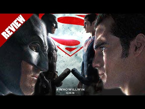 BATMAN V SUPERMAN REVIEW (WORST MOVIE EVER MADE?)