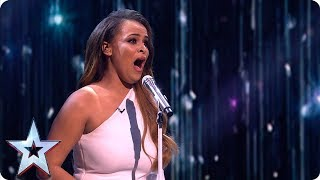 GOOSEBUMPS! Faith Tucker stuns with 'Sei Tu La Ragionne' | Semi-Finals | BGT 2019
