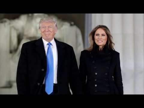 Trump attends welcome celebration at the Lincoln Memorial