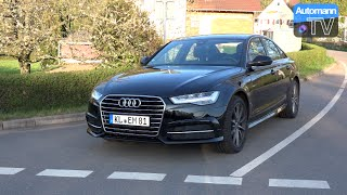 2015 Audi A6 Facelift 2.0 TDI (190hp) - DRIVE & SOUND (60FPS)