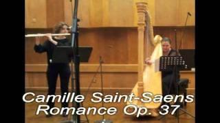 C. Saint-Saens Romance op. 37 for Flute and Harp