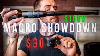 CHEAP vs. EXPENSIVE Macro (+ How To Fake The Probe Lens Look)