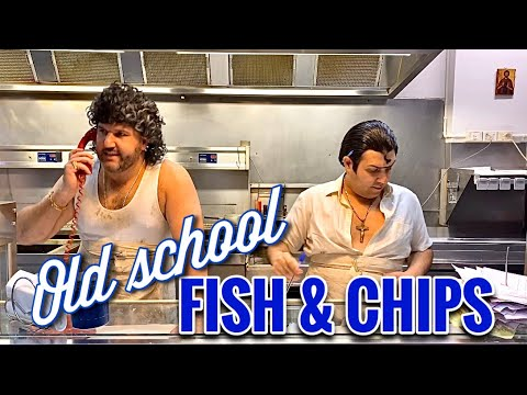 Old School FISH & CHIP Shop