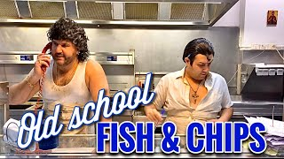 Download Old School FISH & CHIP Shop