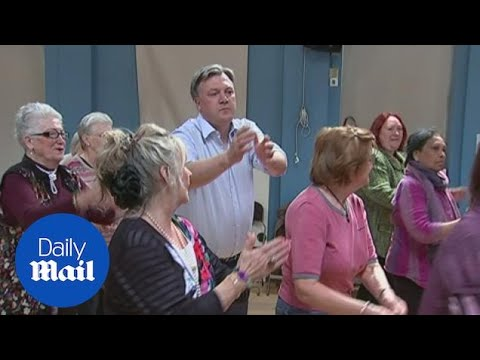 Some Of Ed Balls' 'greatest' Dance Moves Ahead Of Strictly Debut - Daily Mail